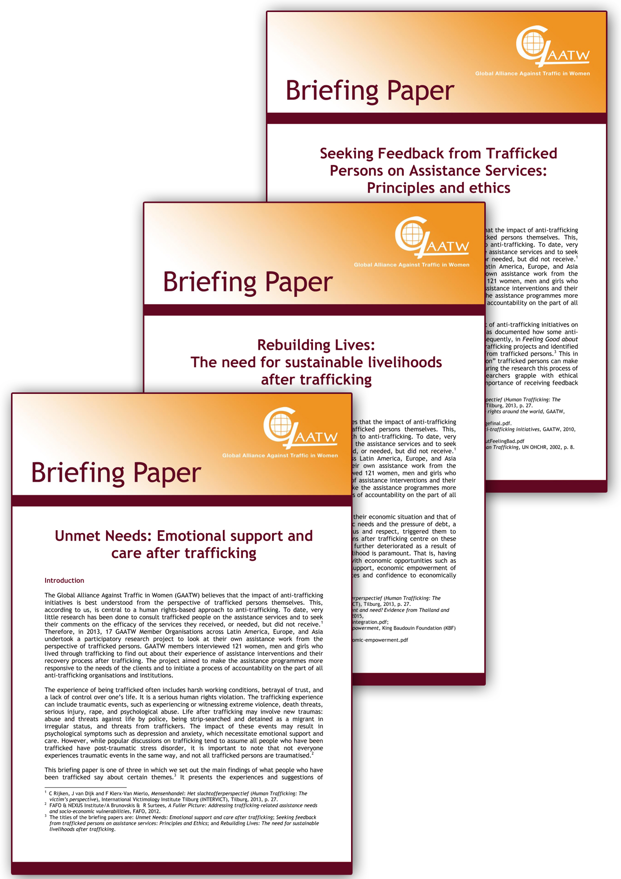 Accountability Briefing Papers